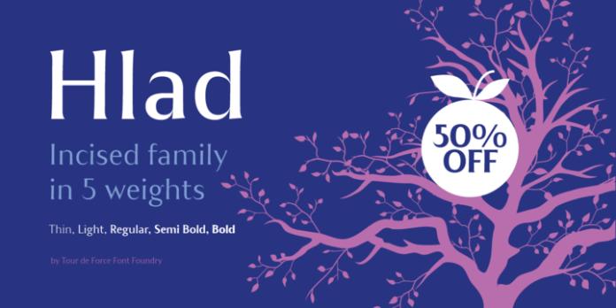 Hlad Font Family