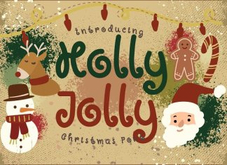 Holly Jolly Font