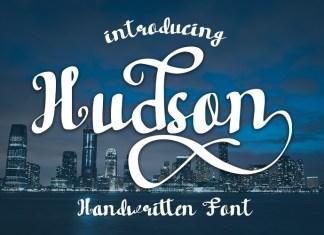 Hudson Handwritten font Script Font