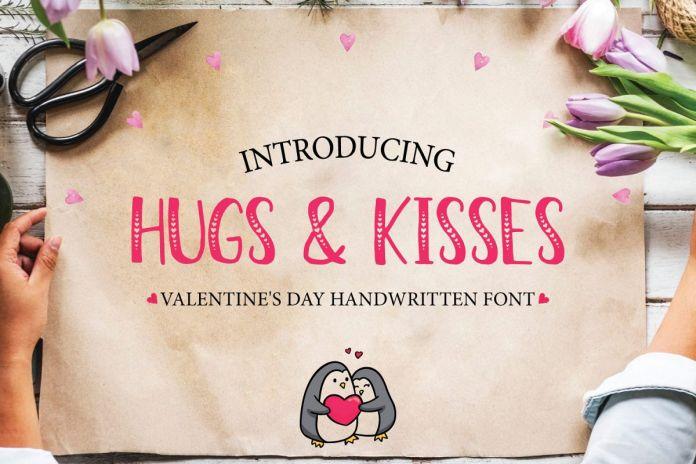 Hugs & KissesRegular Font