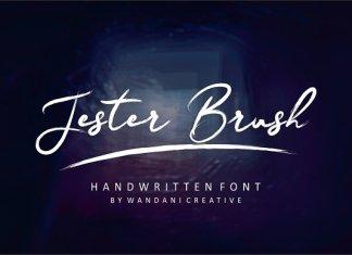 Jester Brush Font