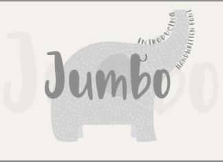 Jumbo Script Font