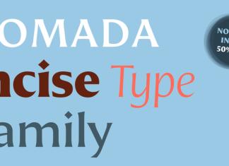 Nomada Incise Font Family