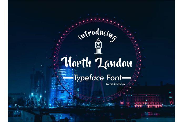 North LandonScript Font