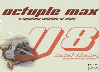 Octuple max -2 fonts