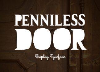 Penniless Door Font