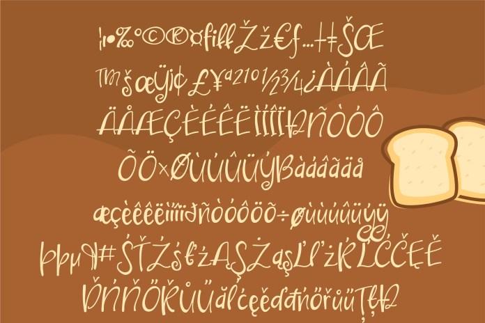 PN Bounce Print Script Font