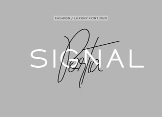 Portia & Signal Duo - Fashion Fonts