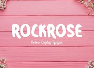 Rockrose Regular Font