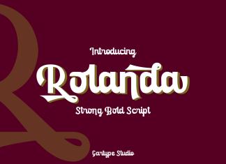 Rolanda Script Font