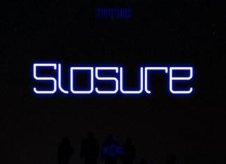 Slosure Font