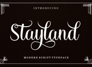 Stayland Font