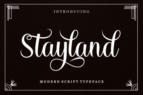 Stayland Font