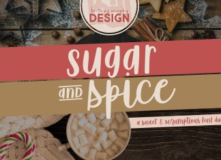 Sugar & Spice Font Duo