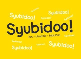 Syubidoo Font