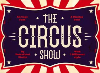 The Circus Show - Display Font