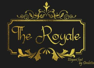 The RoyaleOther Font