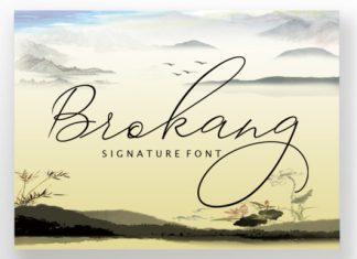 Brokang Font