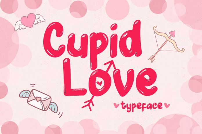 Cupid Love - A Lovely Typeface Regular Font