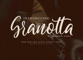 Granotta- Dazling Font