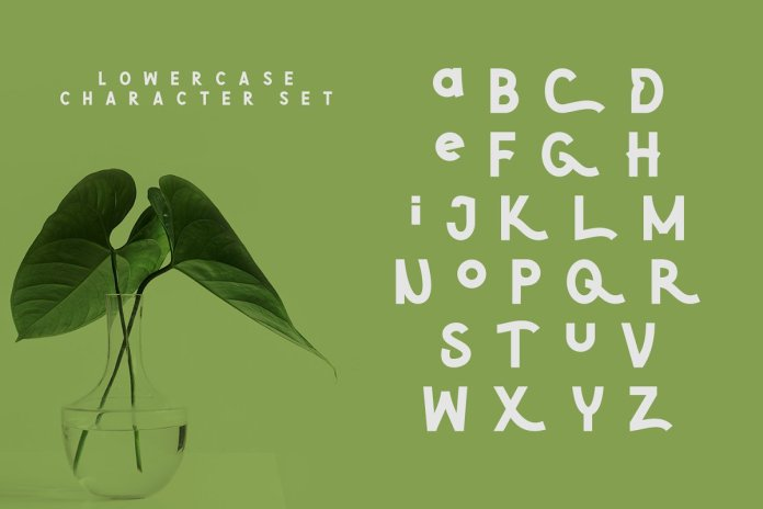 Green | Natural Cute Font