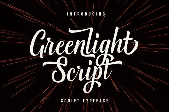 Greenlight Script Font