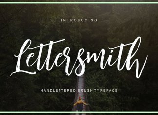 Lettersmith Font