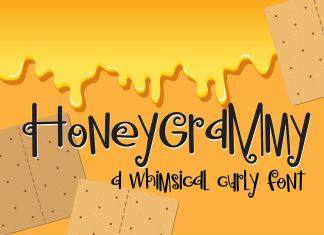 PN Honeygrammy Regular Font