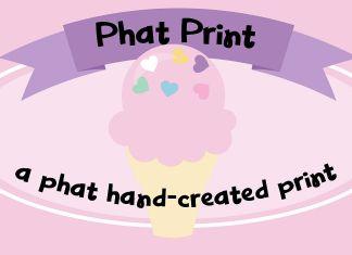 PN Phat Print Regular Font