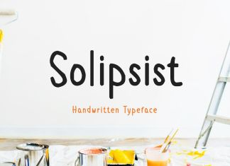 Solipsist Regular Font
