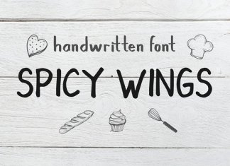 Spicy Wings Font