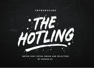 The Hotling Brush Font