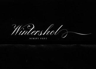 Winterskol Script Font