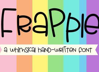 ZP Frapple Script Font
