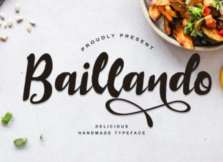 Baillando Font