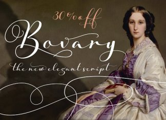 Bovary Font