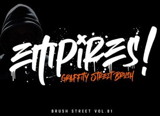 Empires - Graffitty Street Brush Font