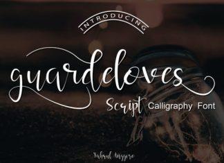 Guardeloves Script Font