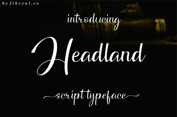 Headland Font