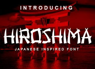 Hiroshima Font