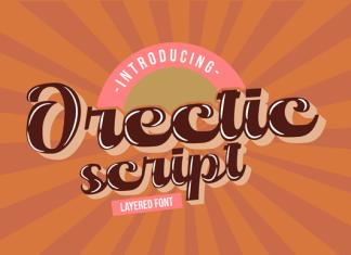 Orectic Script Font