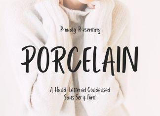 Porcelain Sans Regular Font
