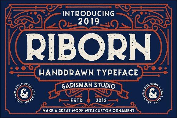 Riborn Sans Serif Fon
