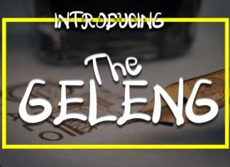 The Geleng Font