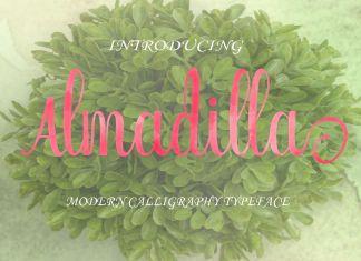 Almadilla Script Font