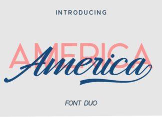 America Duo Font