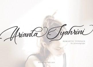 Arianta Syahrini Font