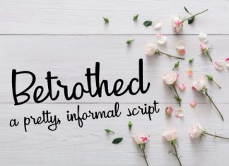 Betrothed Font