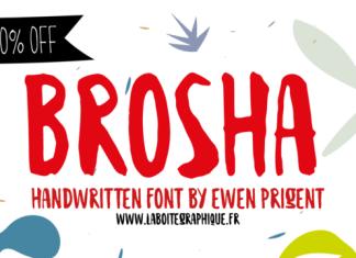 Brosha Font