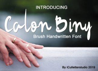 Calon Biny Font